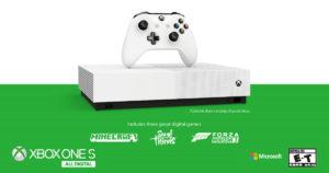 All Digital Edition: El nuevo Xbox One S sin lector de discos