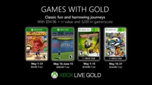 Xbox anuncia los juegos gratuitos de Games with Gold (Mayo 2019)
