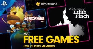 PlayStation anuncia los titulos gratuitos para PS Plus de Mayo 2019
