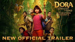 Ya esta disponible el nuevo trailer de Dora and the Lost City of Gold