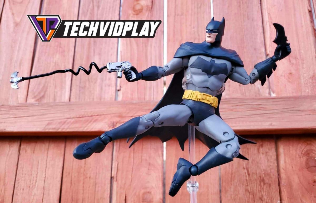 Review de la figura de Accion Batman Detective Comics #1000
