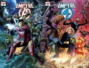 [Comics] Empyre: El evento que unirá a los Avengers con Fantastic 4