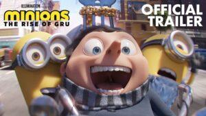 "Lanzan el trailer oficial de ""Minions 2: The Rise of Gru"""