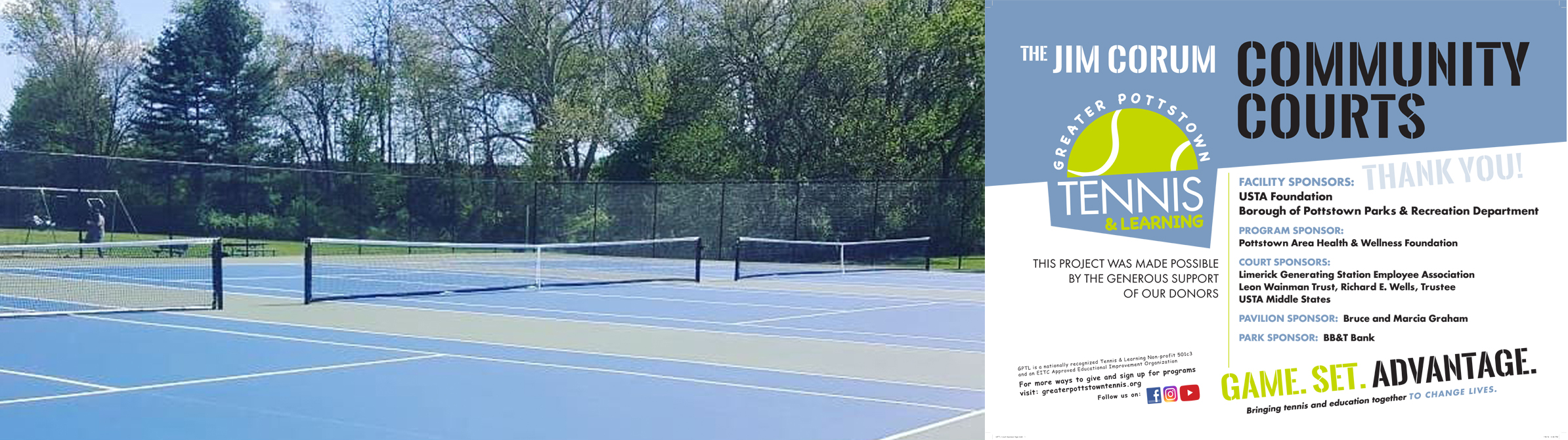 New Maple St. Park Tennis Courts
