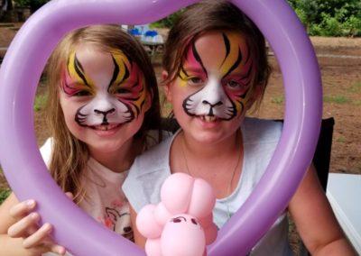Face Painting and Balloons - Bling it on Parties Atlanta, GA