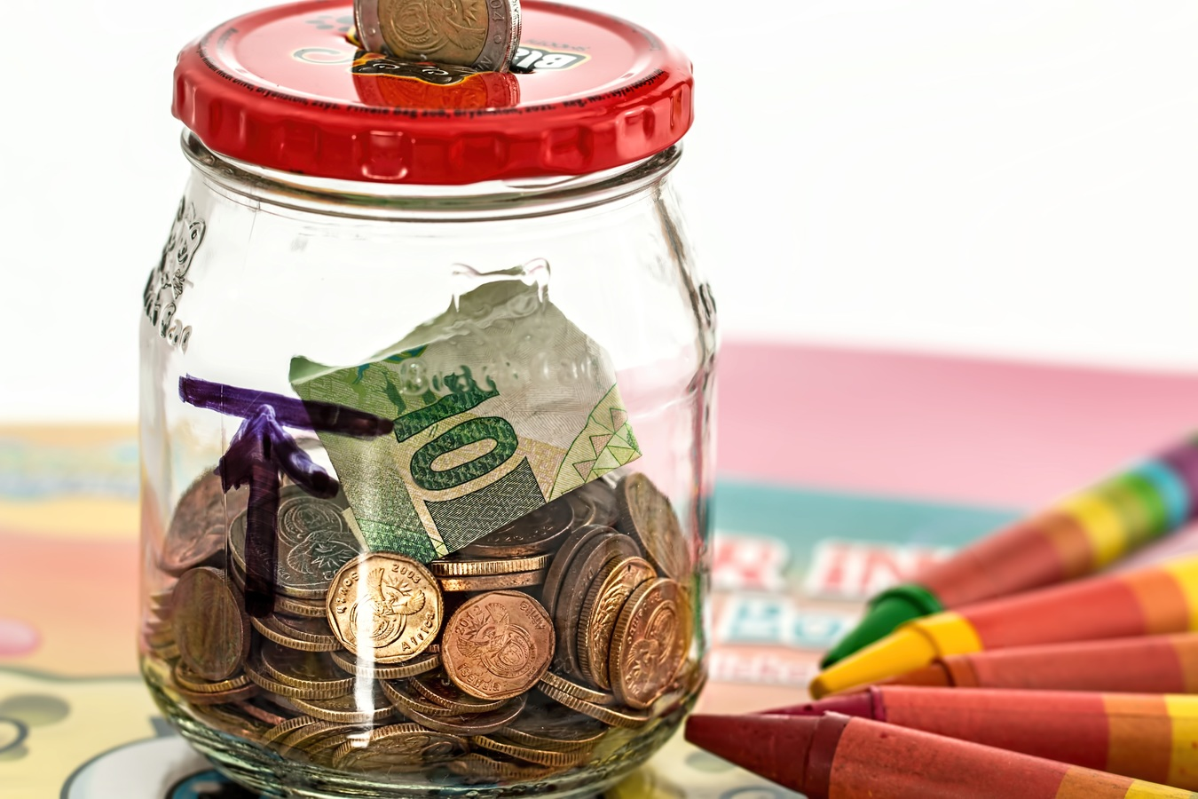 money jar, how much should a teacher save for retirement