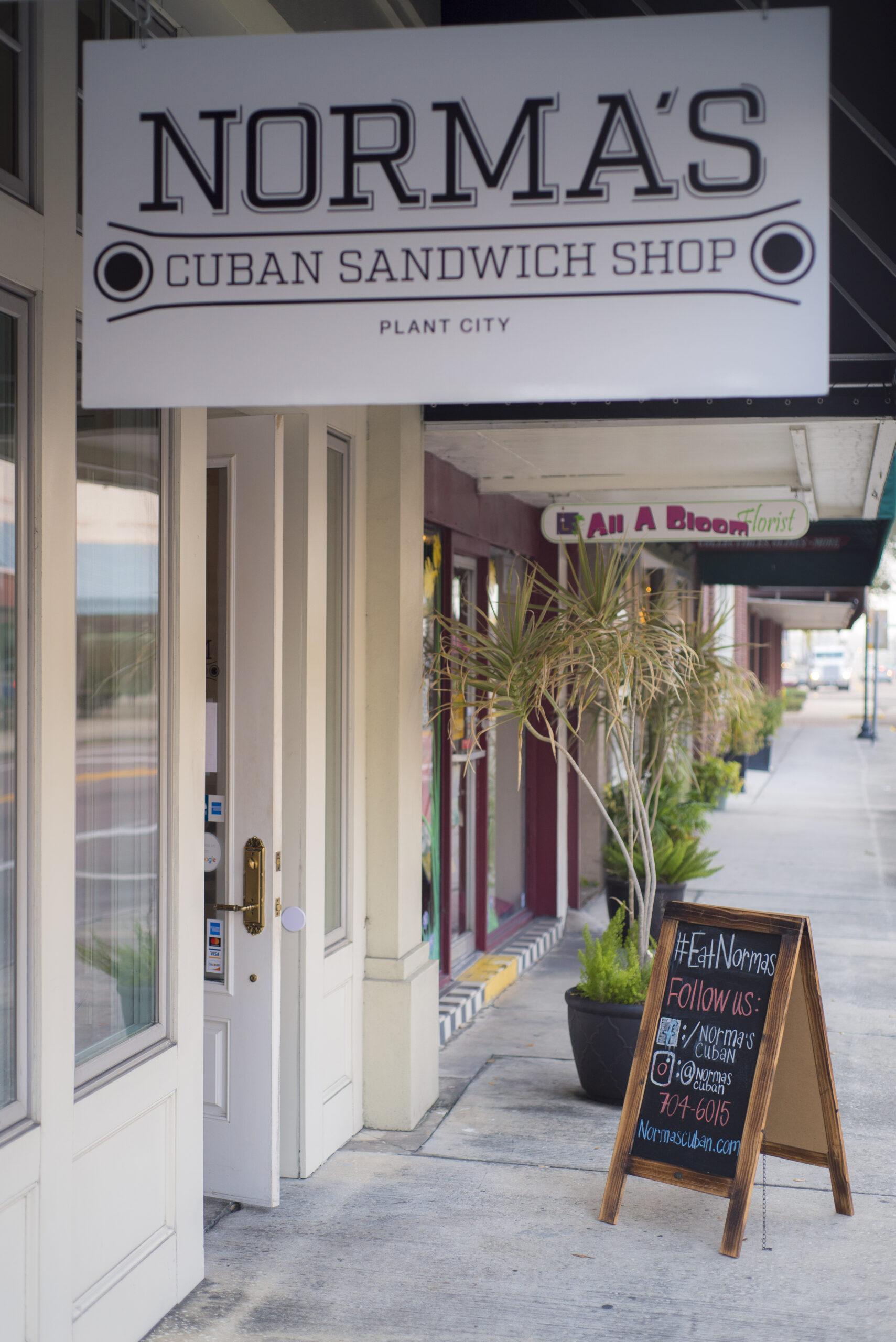 norma's plant city cuban sandwich shop
