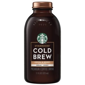 Starbucks Cold Brew Cocoa & Honey