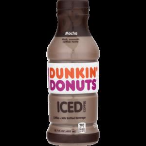 Dunkin Donuts Mocha Coffee 13.7oz