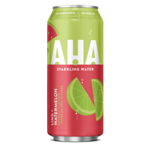 aha lime watermelon sparking water