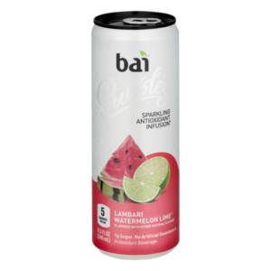 bai bubbles watermelon lime