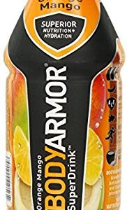 Body Armor Orange Mango Flavored Sports Drink