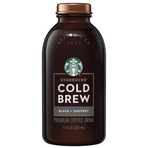 Starbucks Cold Brew Unsweetened Black Coffee