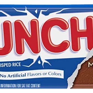nestle crunch chocolate bar