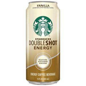 Starbucks Doubleshot Vanilla 15oz