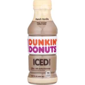 Dunkin Donuts French Vanilla Coffee 13.7oz