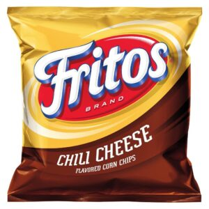 fritos chili cheese flavored corn chips