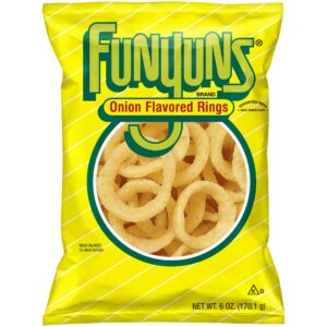 funyuns brand onion flavored rings