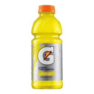 gatorade lemon lime flavored sports drink