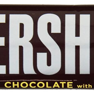 hersheys milk chocolate bar with almonds
