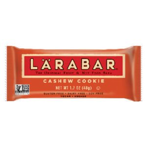 LARABAR Cashew Cookie Fruit and Nut Bar