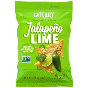 Late July Jalapeno Lime Tortilla Chips 2.25 oz