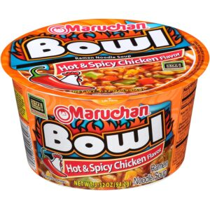Maruchan Hot n Spicy Chicken Noodles 3.32oz