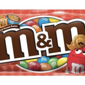 m&ms peanut butter chocolate candies