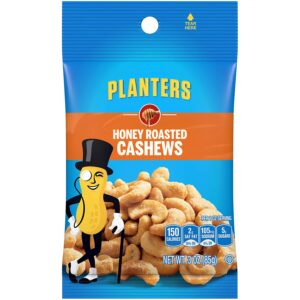 Planters Honey Roasted Cashews 3oz