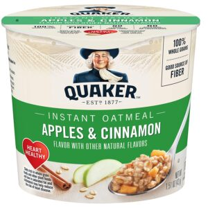 Quaker Oatmeal Express Apple Cinnamon