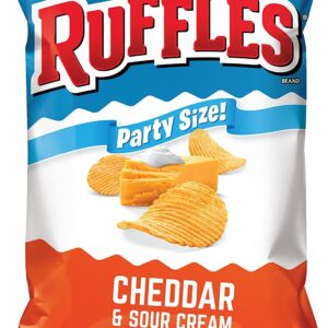 ruffles sour cream and cheddar potato chips