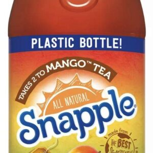 Snapple Mango Flavored Tea