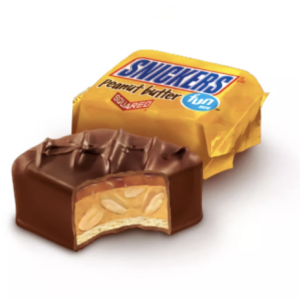 Snickers PB squared chocolate bars