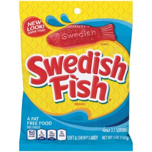 swedish fish candy 5 oz