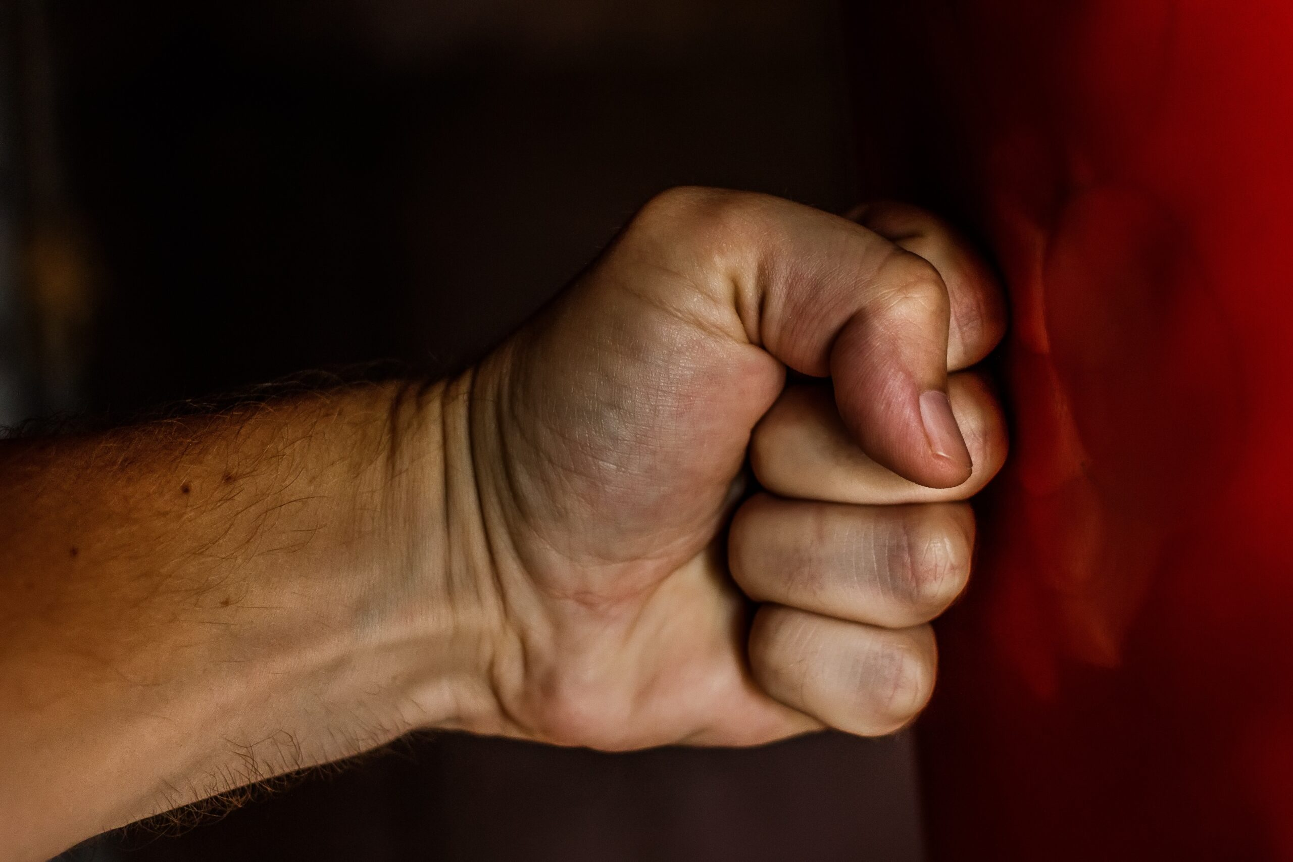 Clenched fist to represent anger management therapy in San Antonio, TX