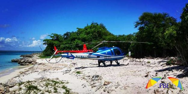 helicopteronthe beach