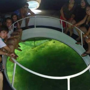 panoramic boat
