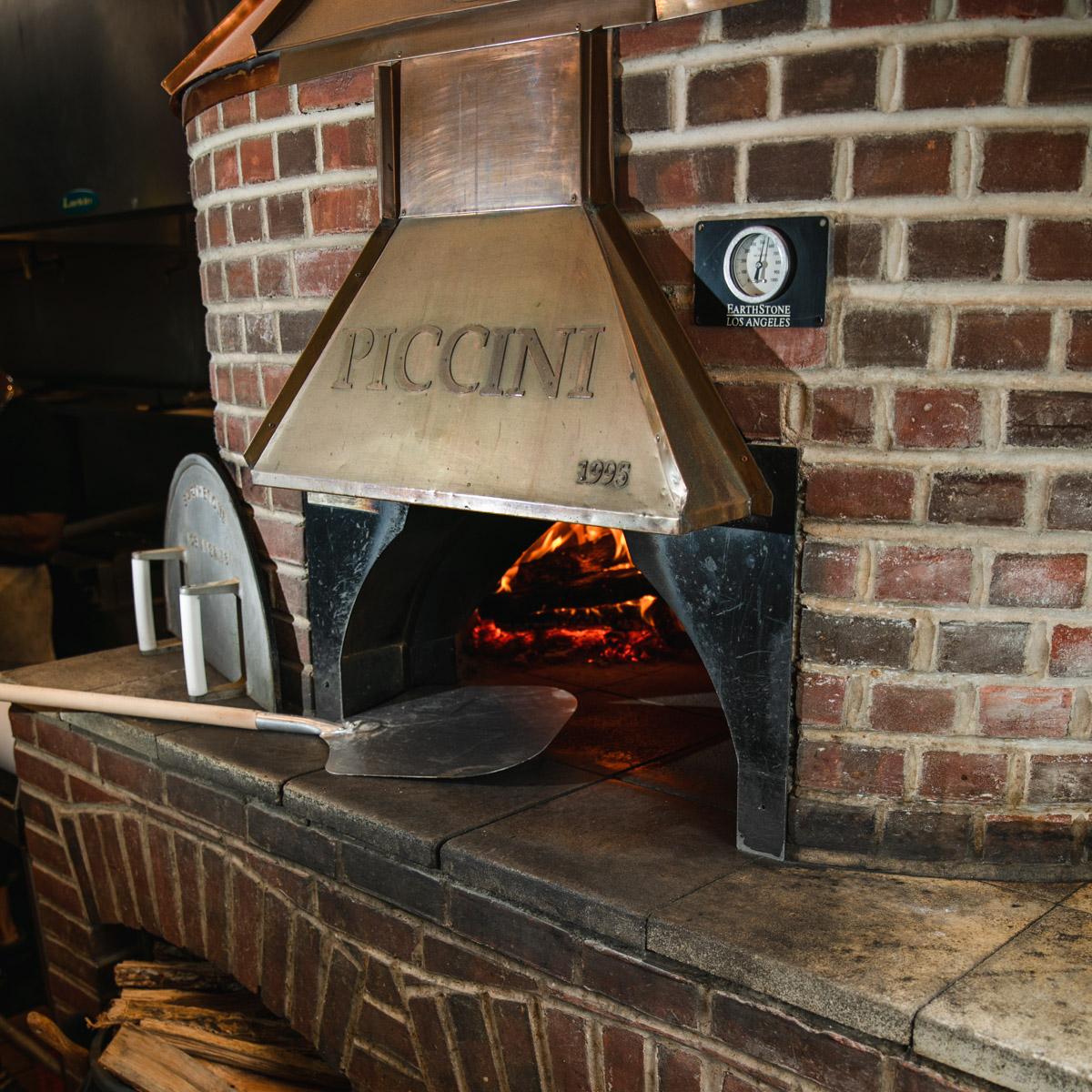 The Famous Piccini Brick Oven!