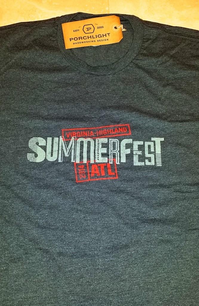 Men's logo t-shirt ($15 ea.)