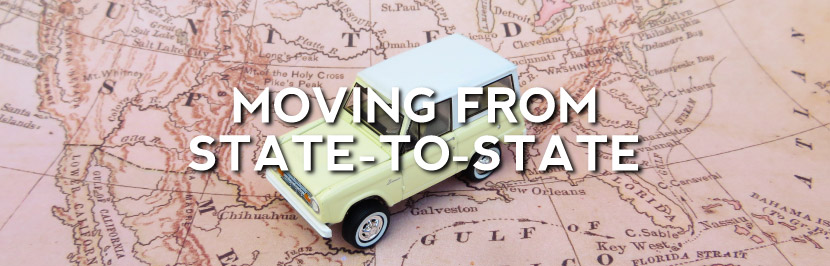 Moving From State To State