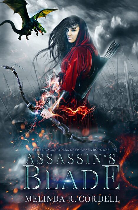 Assassin's Blade, my newest YA epic fantasy with dragons and assassins!
