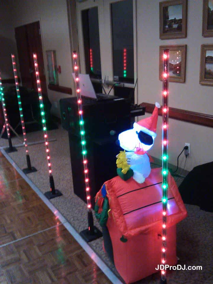 5' Wireless LED Columns 1 (& Snoopy)