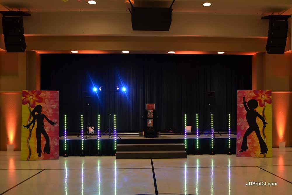 5' Wireless LED Columns 5 (& Uplighting)
