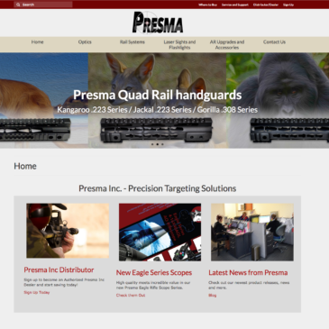 Check out our brand new Presma Inc website!