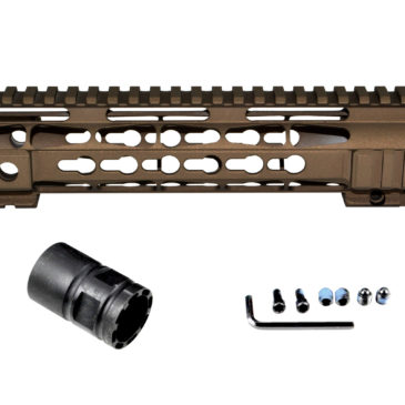 New for your AR15 .223/5.56…Cerakote Coated Handguards!   Burnt Bronze, currently available in 7″ and 10″