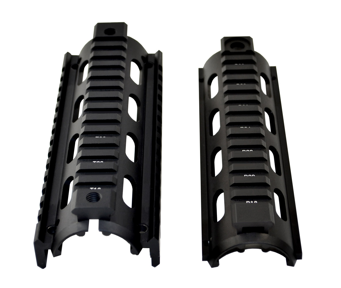 Sniper® 2 Piece Drop In Quad Rail Handguard DPMS .308, 6