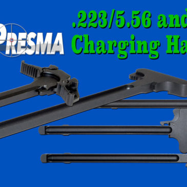 Ambidextrous Charging Handles from Presma Inc!  AR-15 .223/5.56 charging handles NOW IN STOCK!
