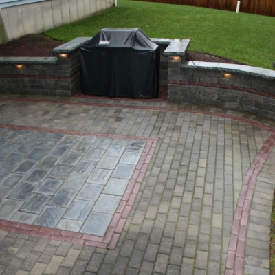 After patio and wall upgrade 1