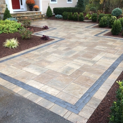 After Contemporary Walkway/Courtyard
