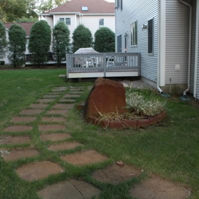 Before walkway 2
